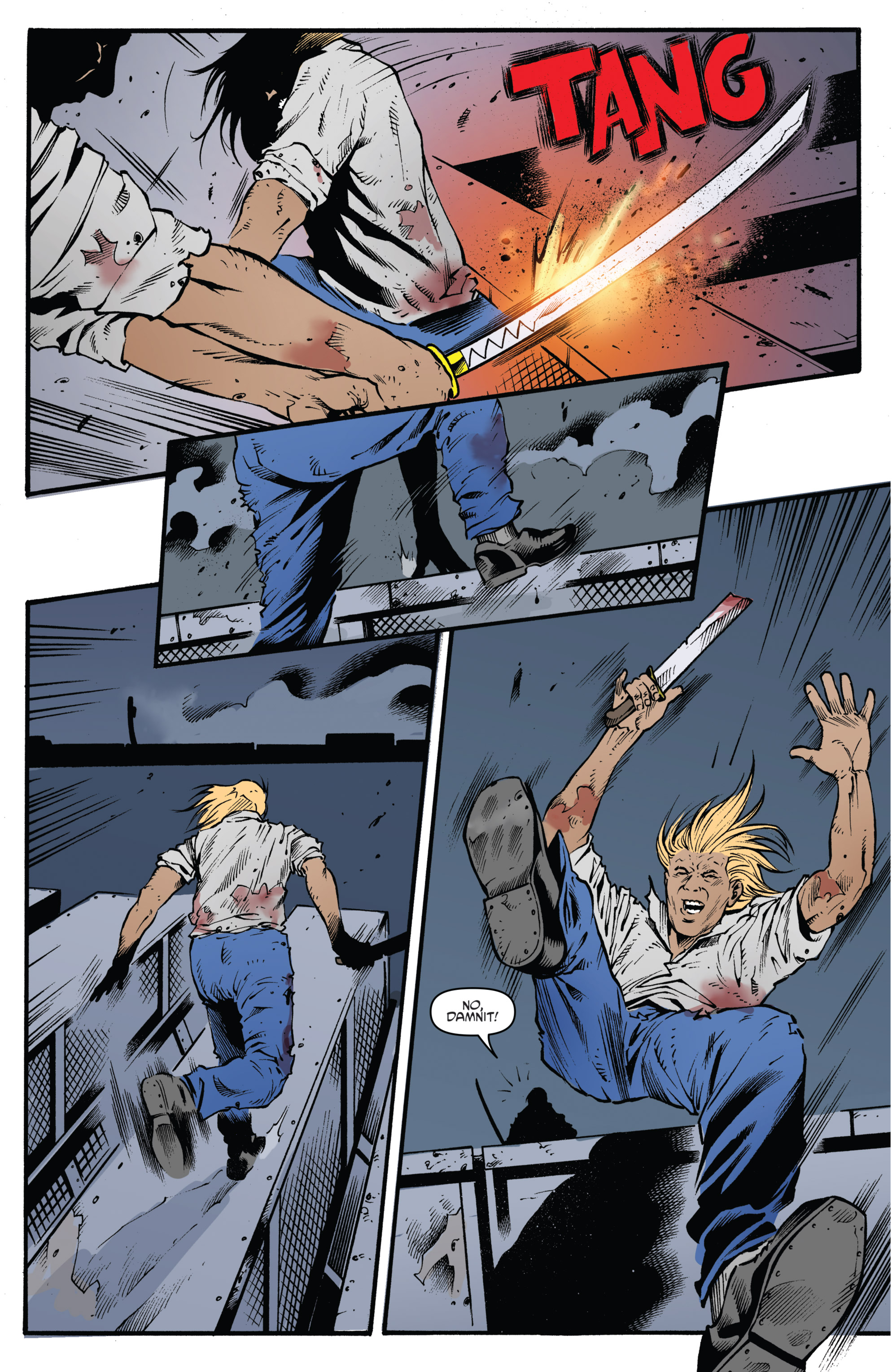 Read online Highlander: The American Dream comic -  Issue #4 - 10