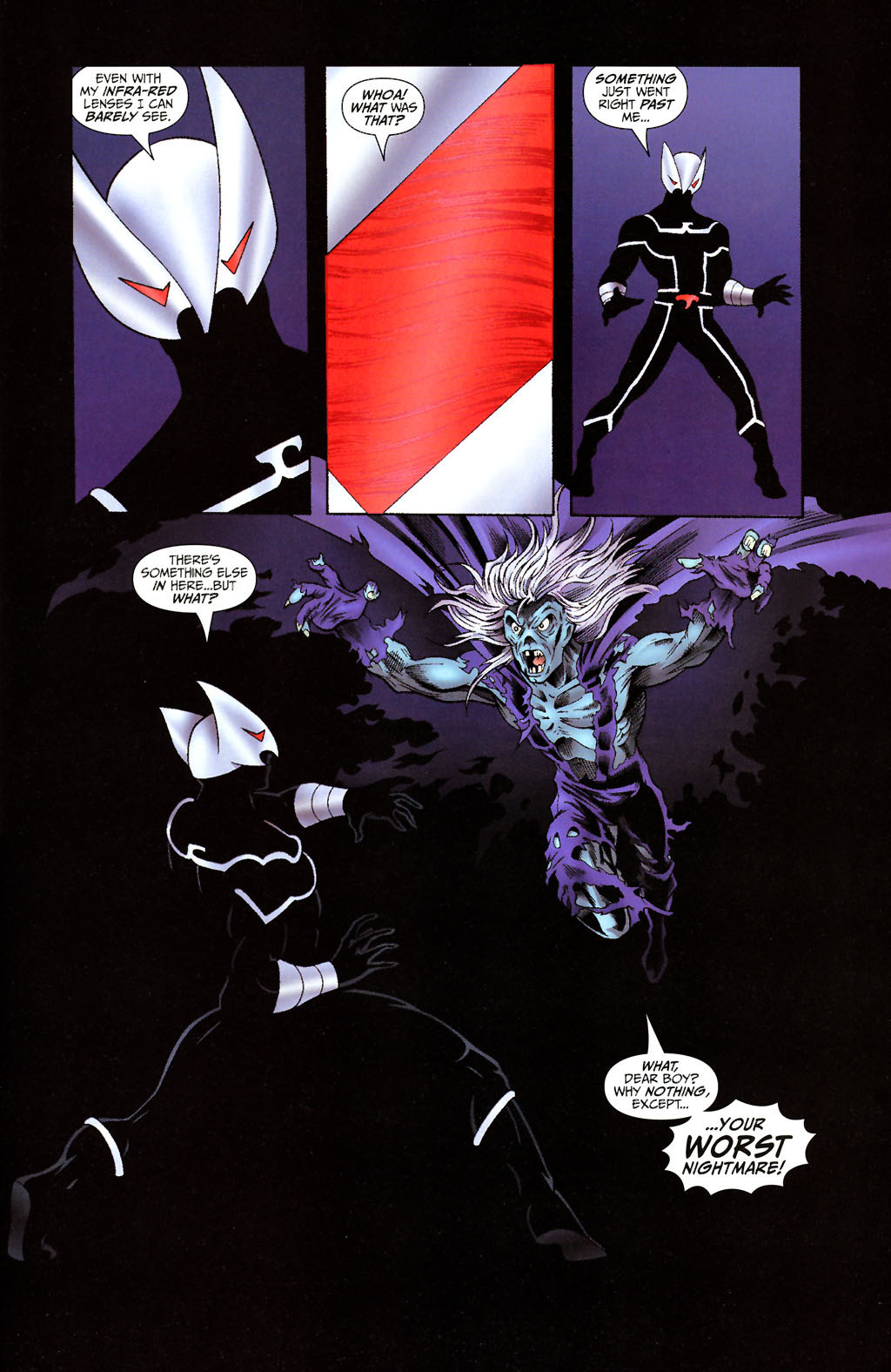 Read online ShadowHawk (2005) comic -  Issue #14 - 22