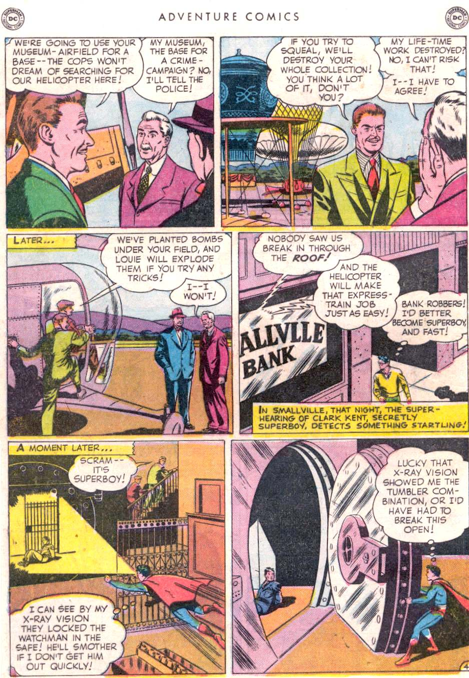Read online Adventure Comics (1938) comic -  Issue #156 - 6