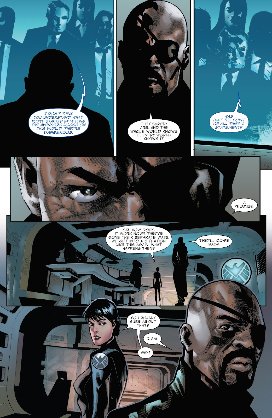 Read online Marvel's The Avengers comic -  Issue #2 - 21