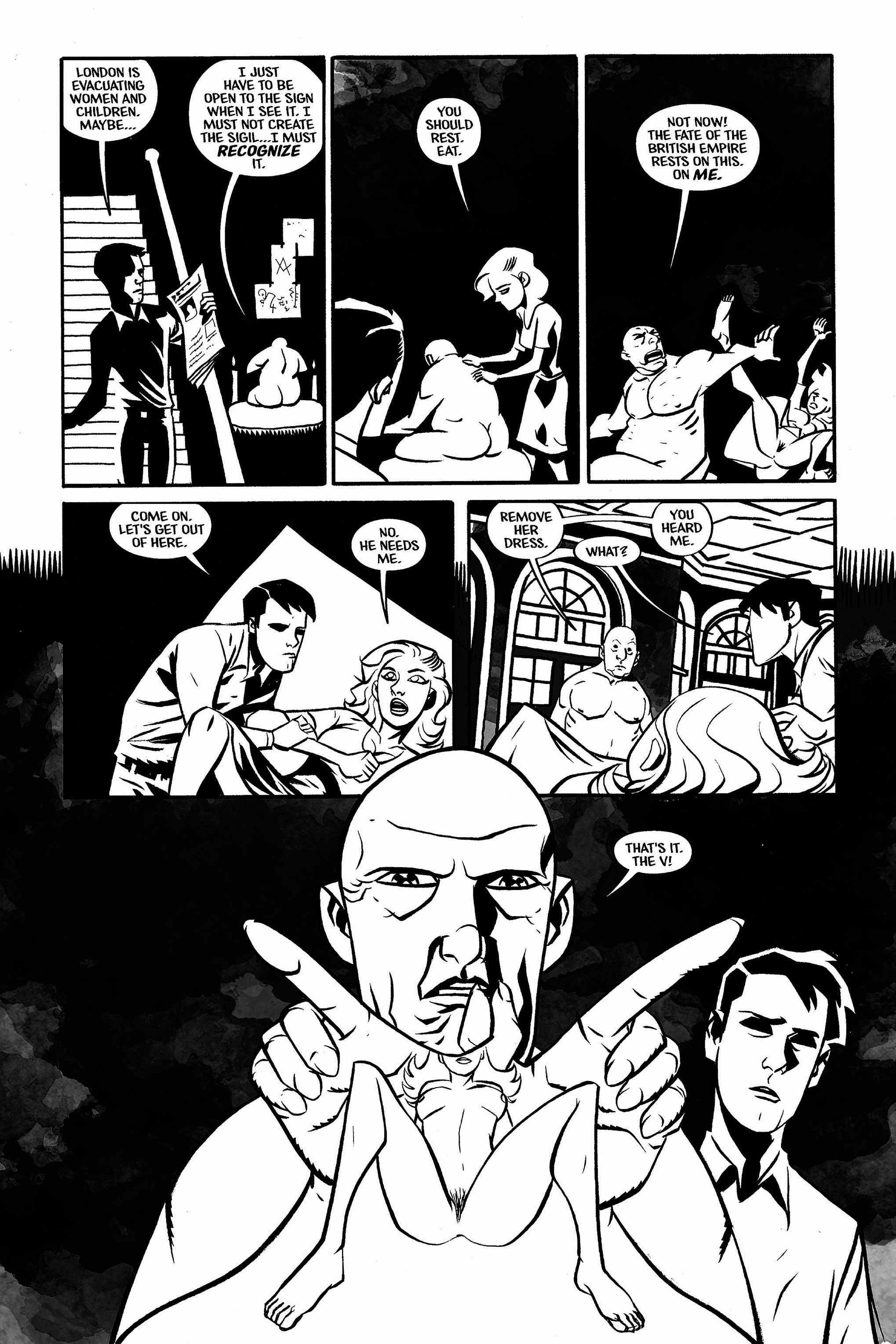 Read online Aleister & Adolf comic -  Issue # TPB - 46