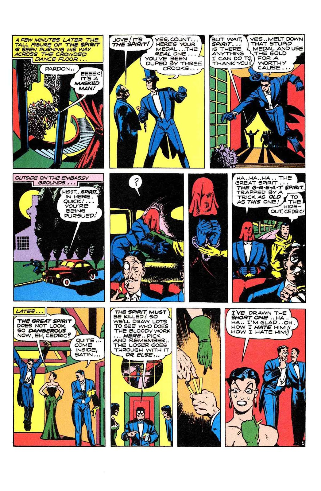 Read online Will Eisner's The Spirit Archives comic -  Issue # TPB 2 (Part 1) - 86