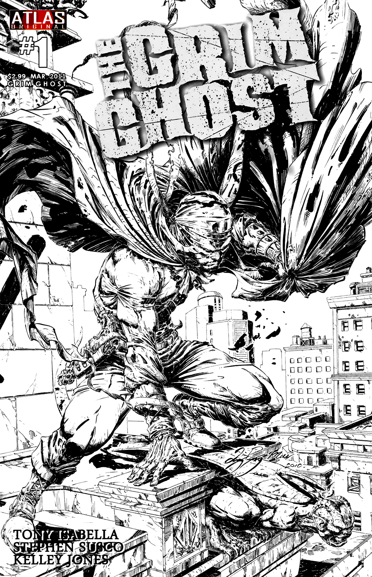 Read online The Grim Ghost comic -  Issue #1 - 2