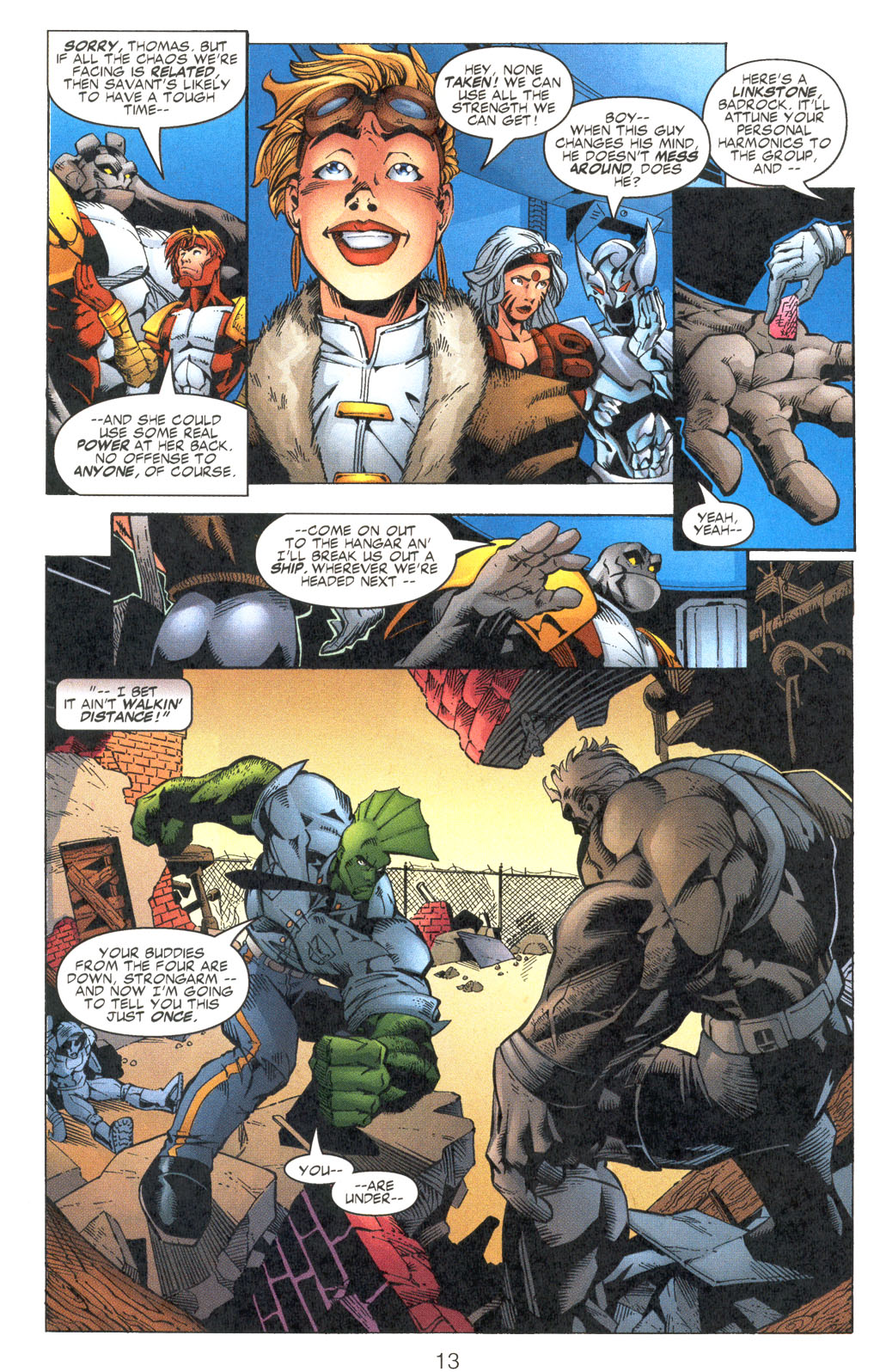 Read online Shattered Image comic -  Issue #2 - 13