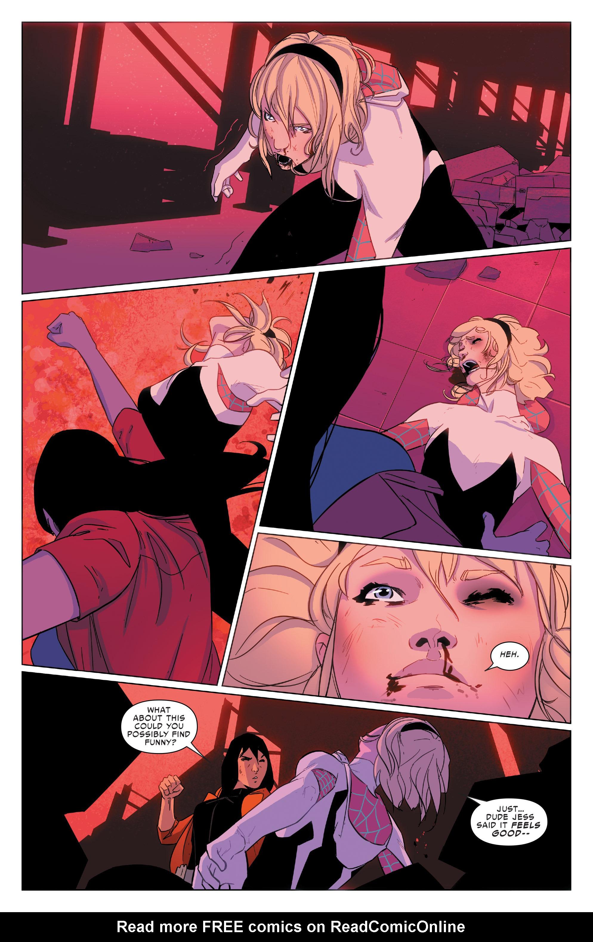 Read online Spider-Women Omega comic -  Issue # Full - 26