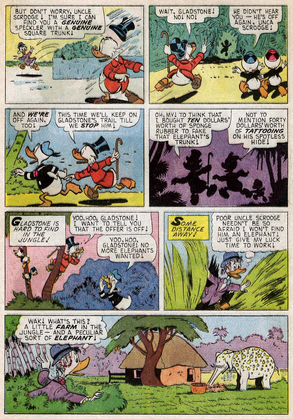 Read online Uncle Scrooge (1953) comic -  Issue #54 - 16