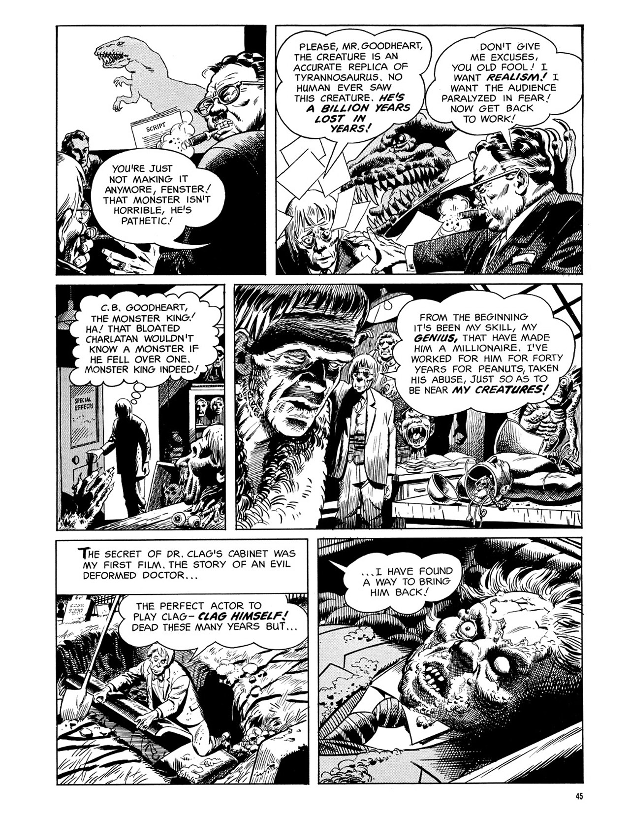 Read online Eerie Archives comic -  Issue # TPB 3 - 46