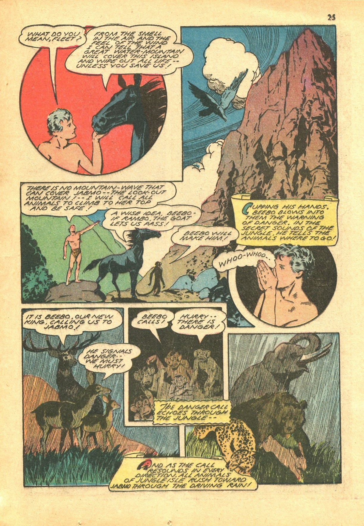 Read online Shadow Comics comic -  Issue #24 - 25