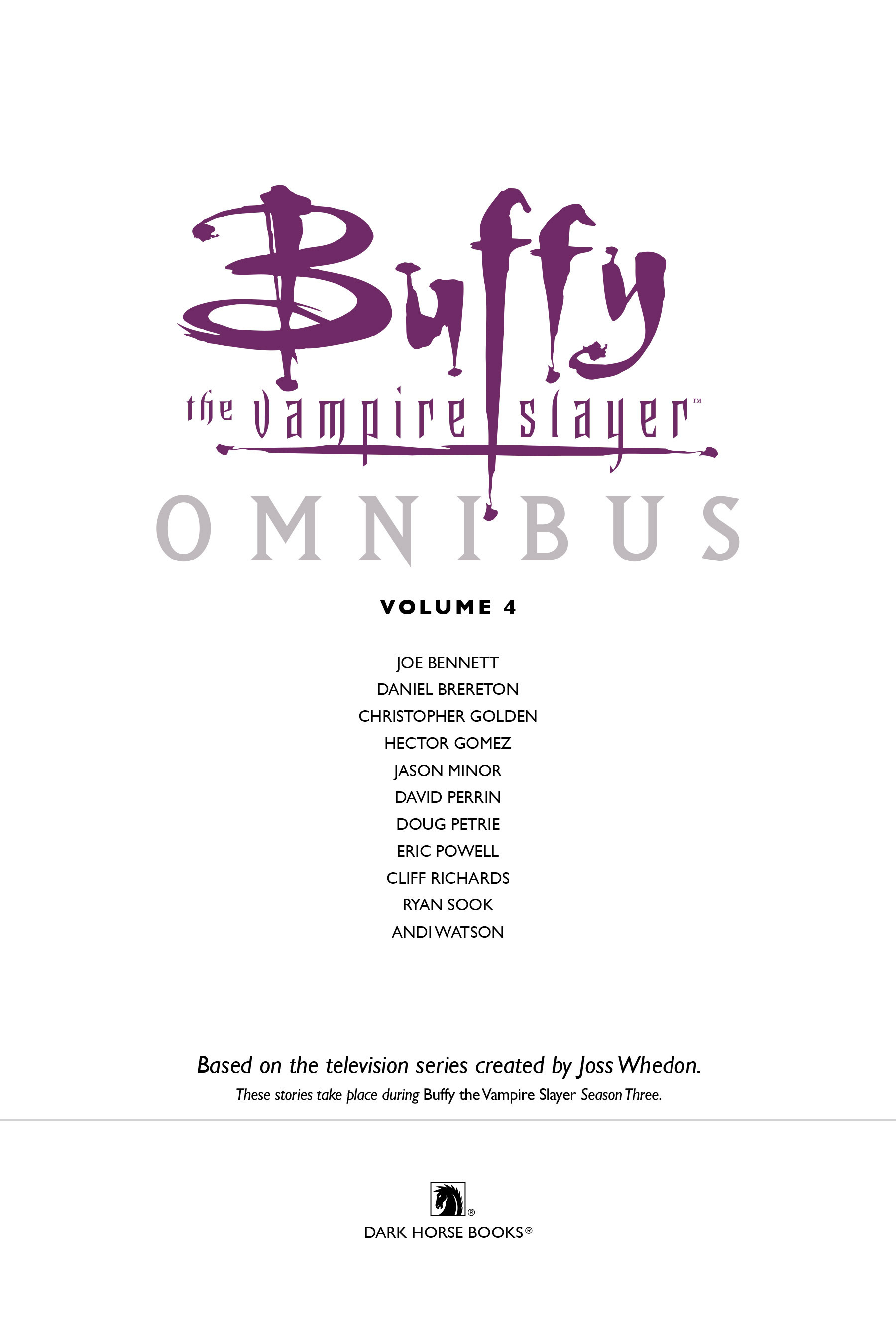 Read online Buffy the Vampire Slayer: Omnibus comic -  Issue # TPB 4 - 4