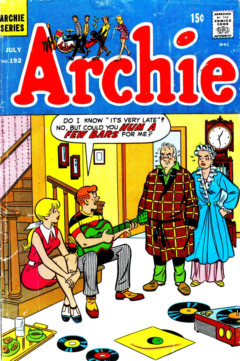 Read online Archie (1960) comic -  Issue #192 - 1