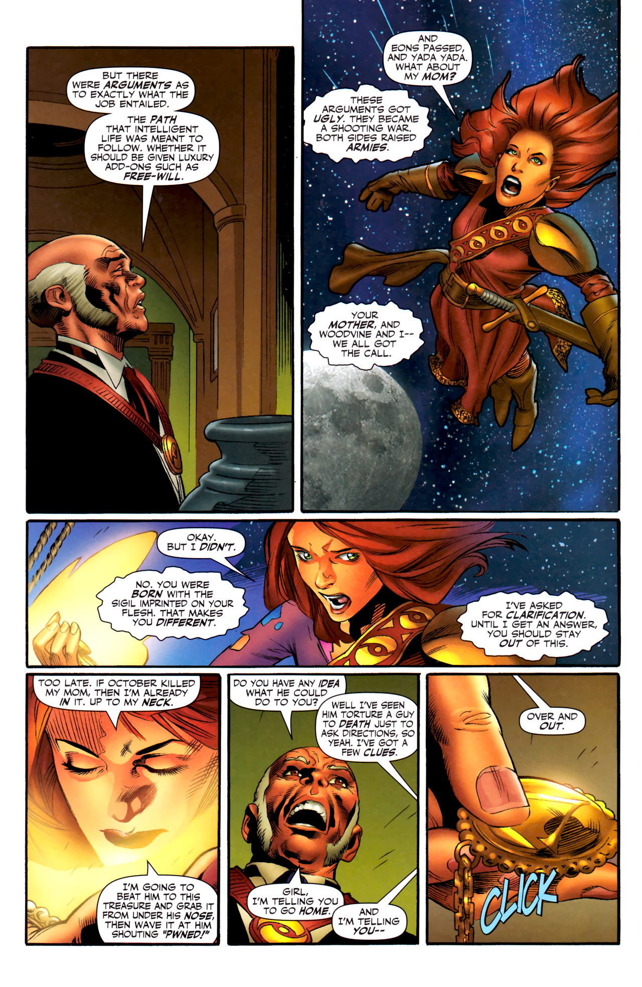 Read online Sigil (2011) comic -  Issue #3 - 15