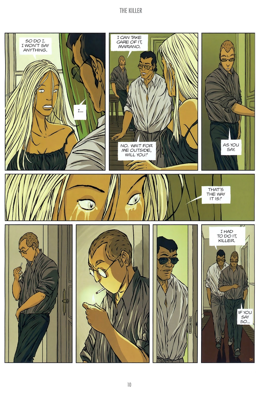 Read online The Killer comic -  Issue #10 - 10