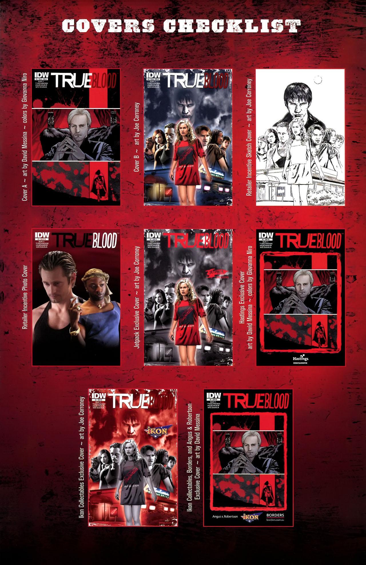 Read online True Blood (2010) comic -  Issue #5 - 32