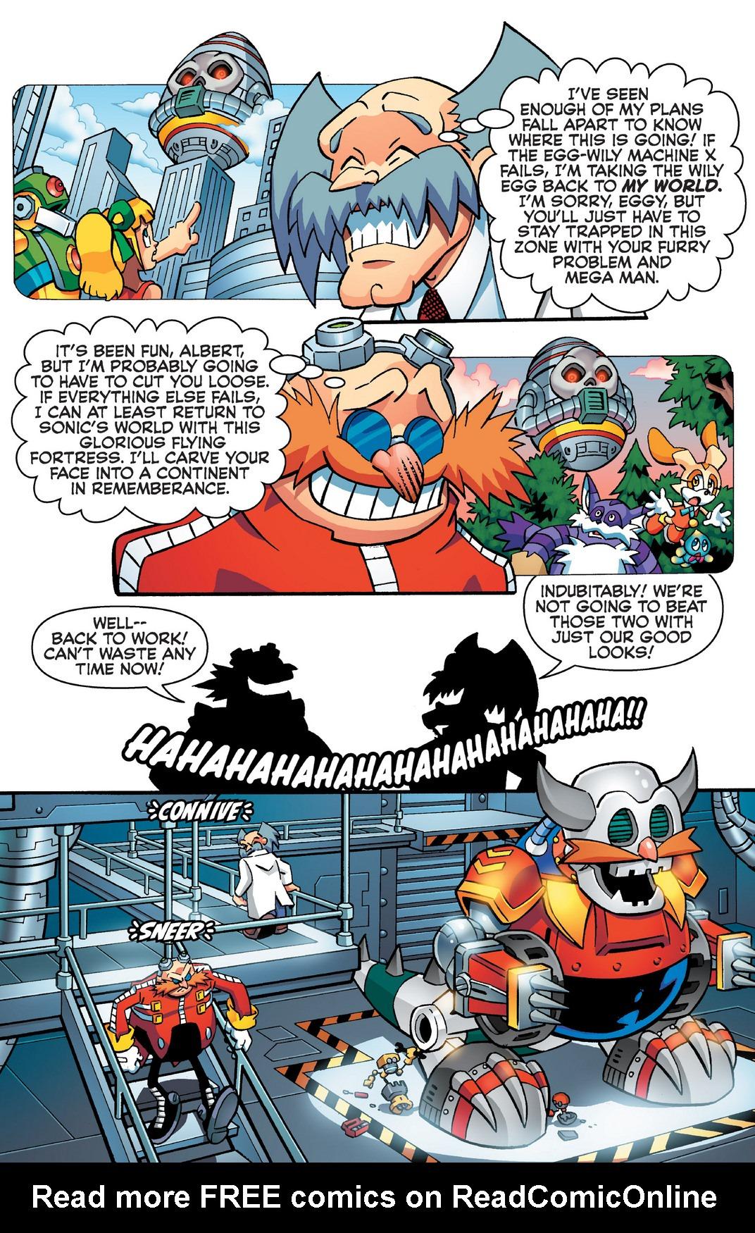 Read online Sonic Mega Man Worlds Collide comic -  Issue # Vol 2 - 87