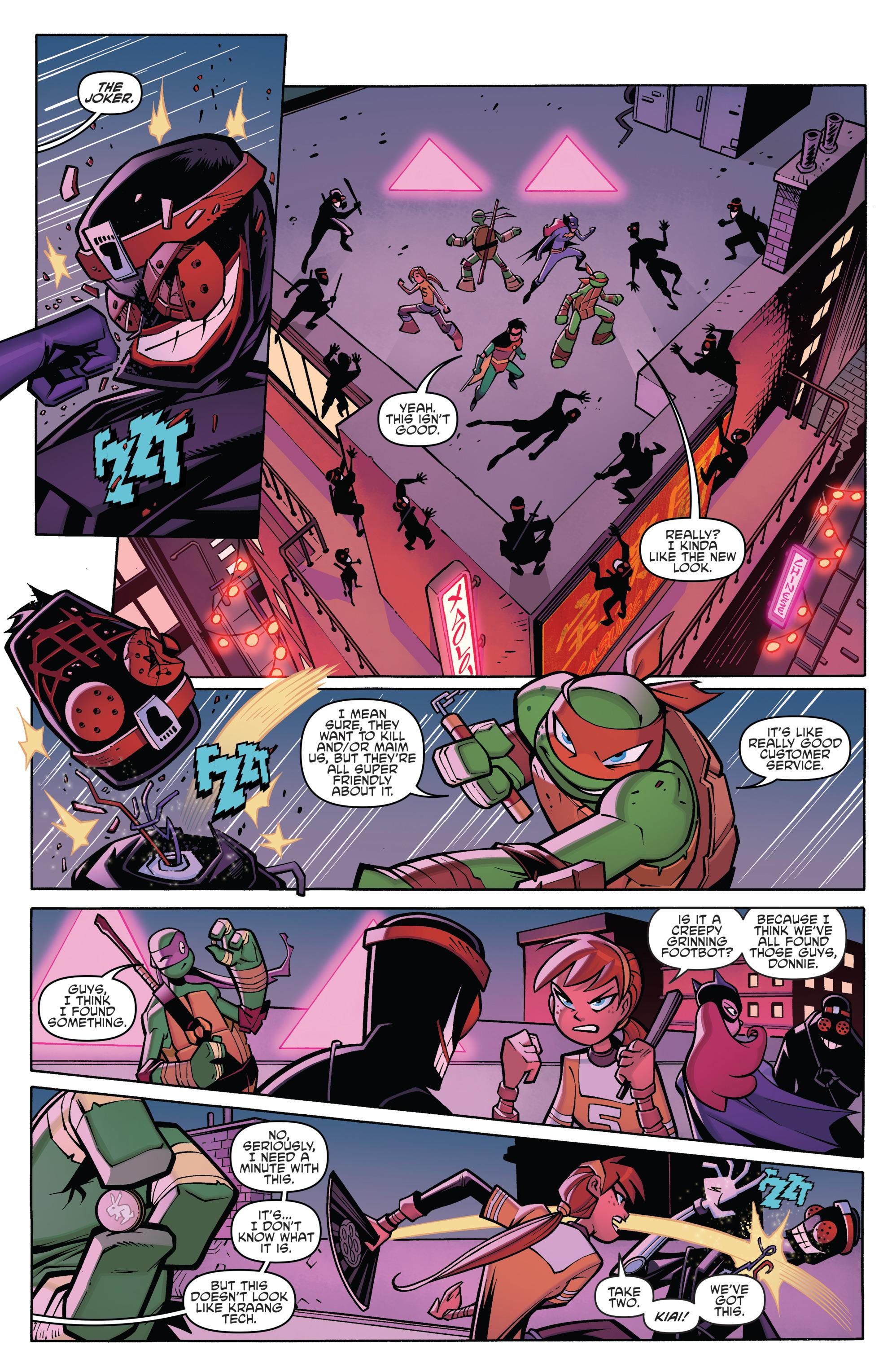 Read online Batman/Teenage Mutant Ninja Turtles Adventure comic -  Issue #4 - 7
