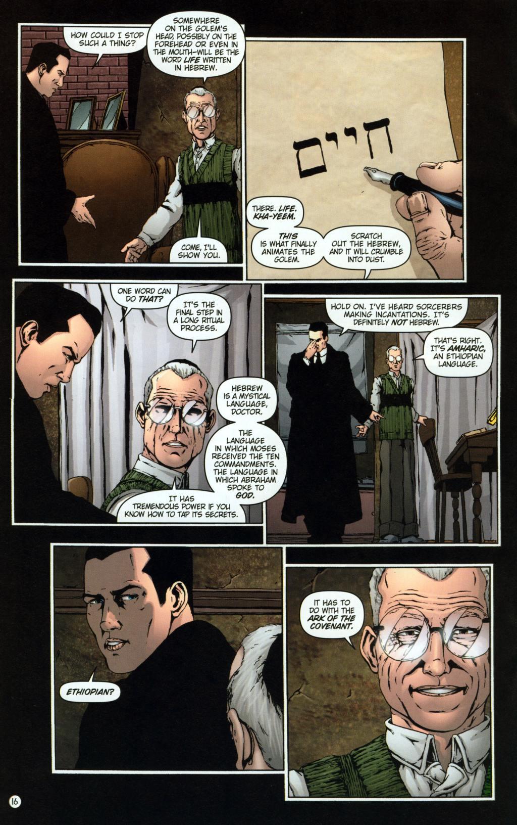Read online Rex Mundi comic -  Issue #8 - 20