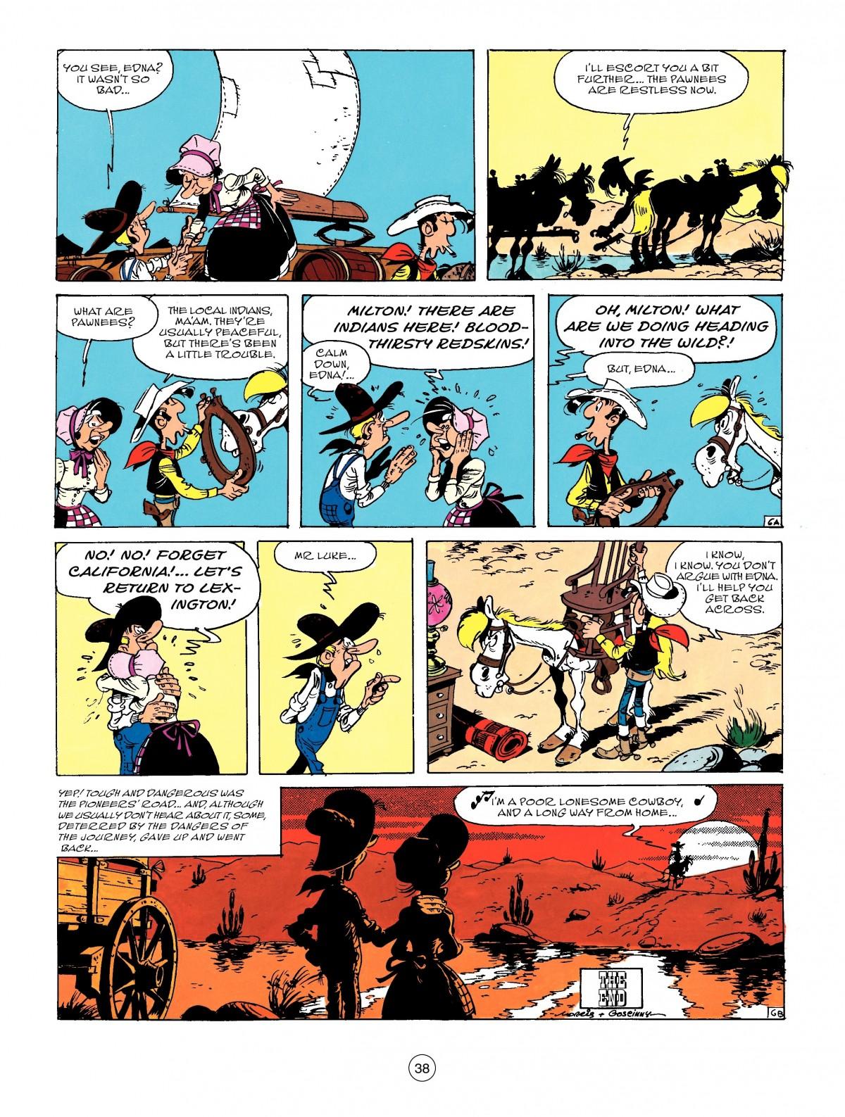 Read online A Lucky Luke Adventure comic -  Issue #50 - 38