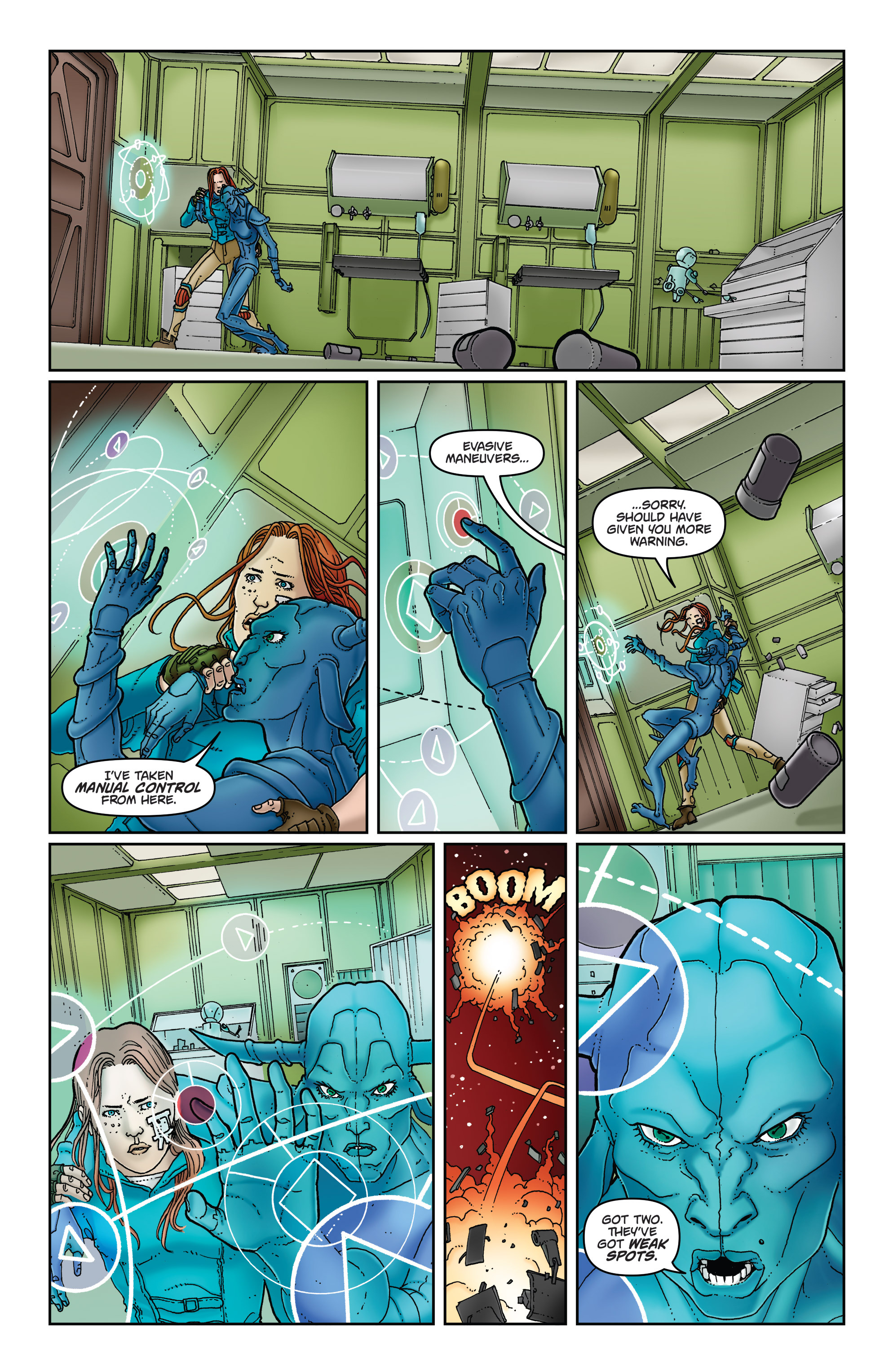 Read online Satellite Falling comic -  Issue #5 - 12