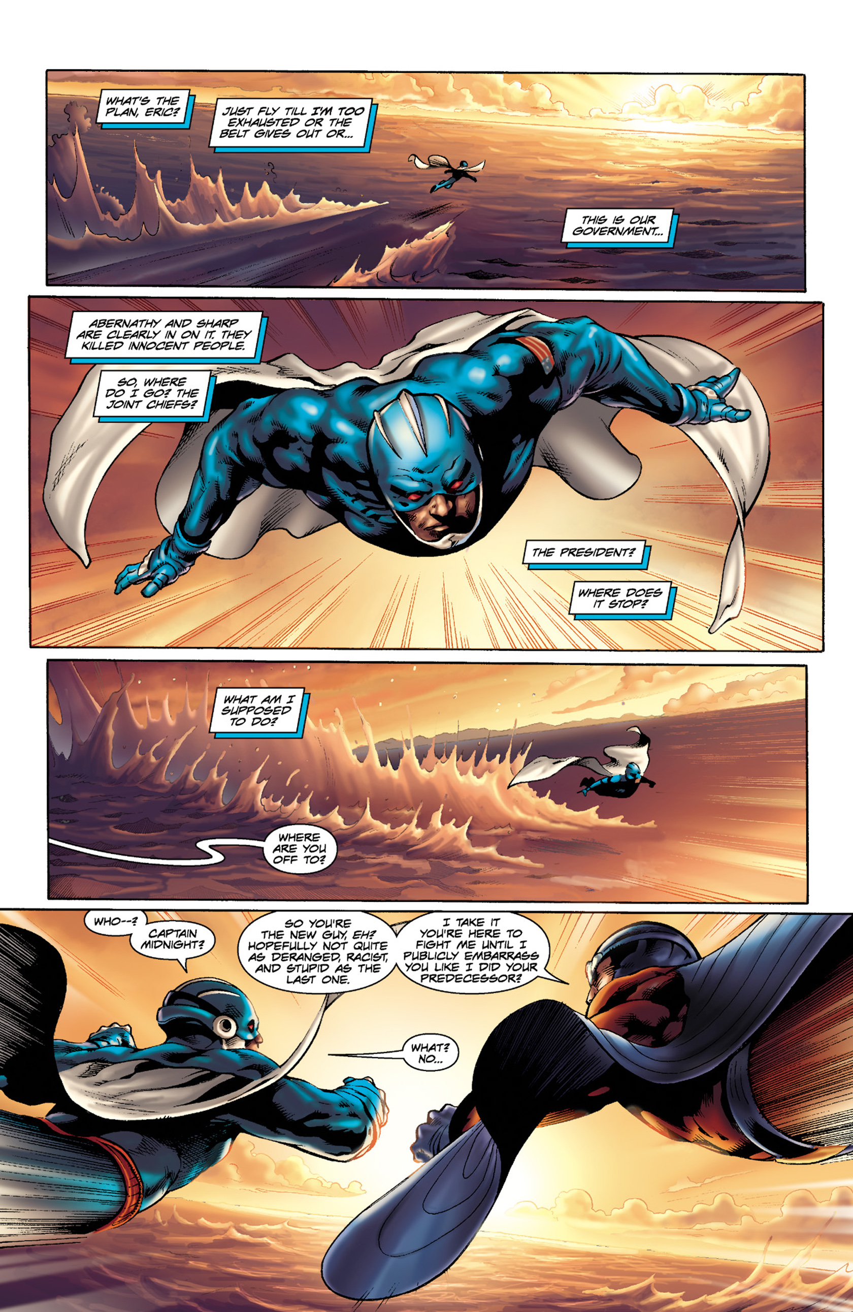 Read online Skyman comic -  Issue #3 - 3