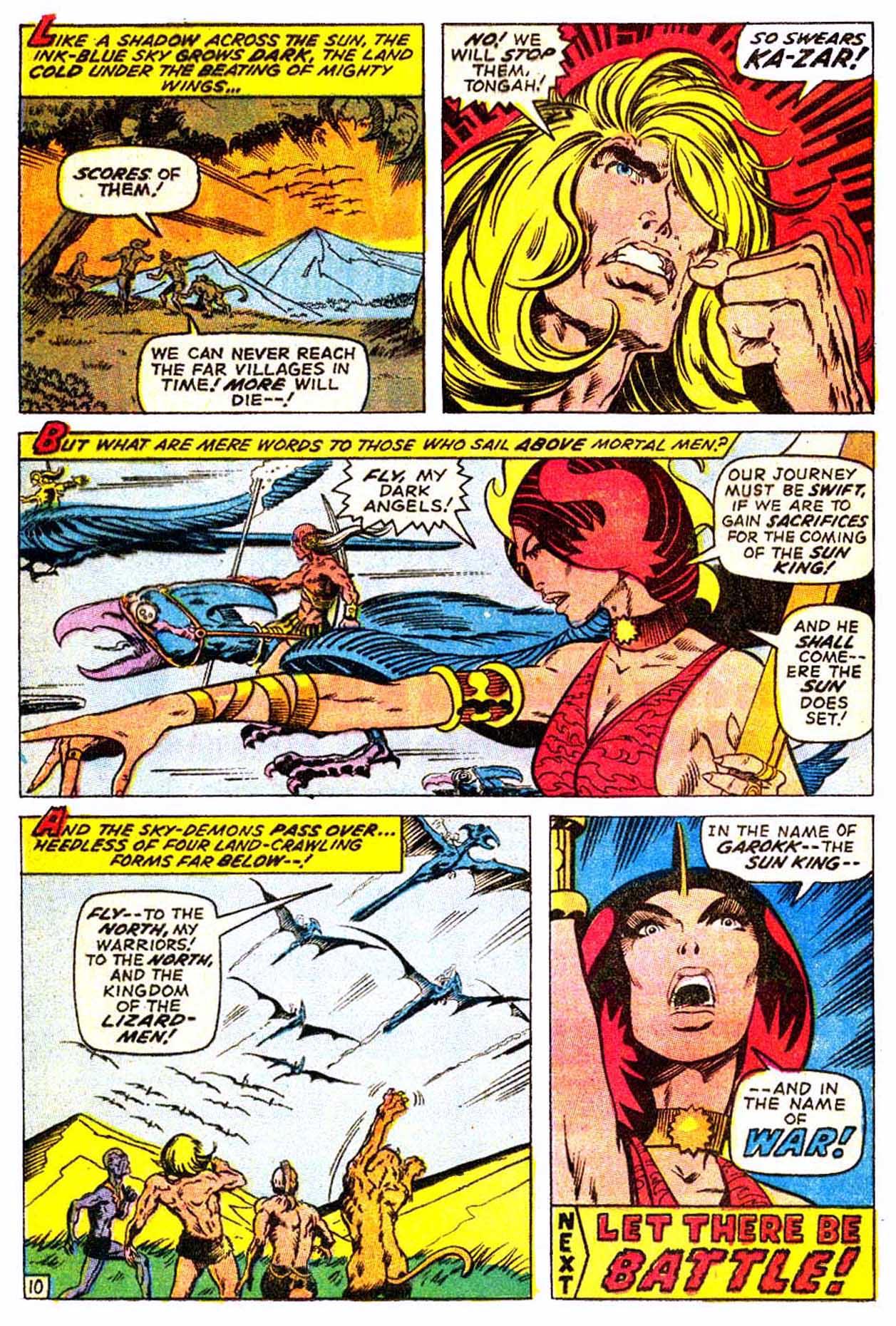 Read online Astonishing Tales (1970) comic -  Issue #3 - 21