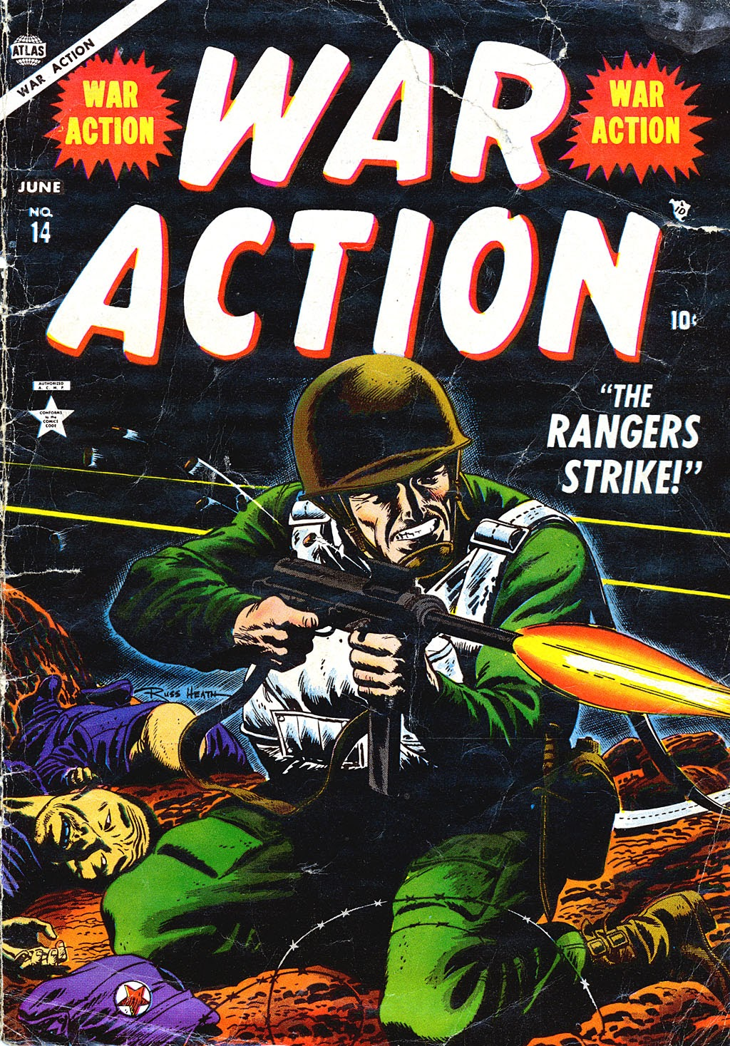War Action issue 14 - Page 1