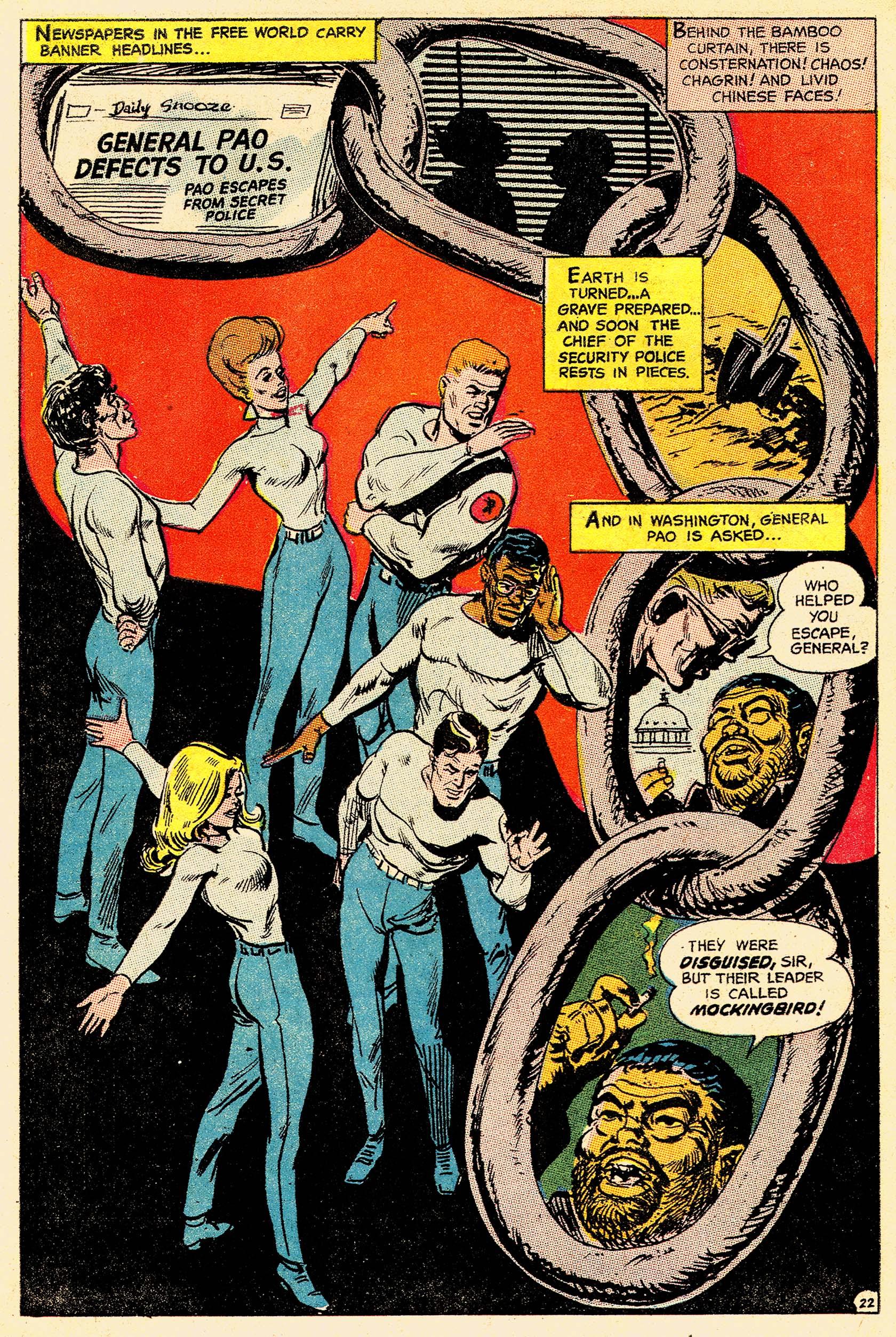 Read online Secret Six (1968) comic -  Issue #4 - 29