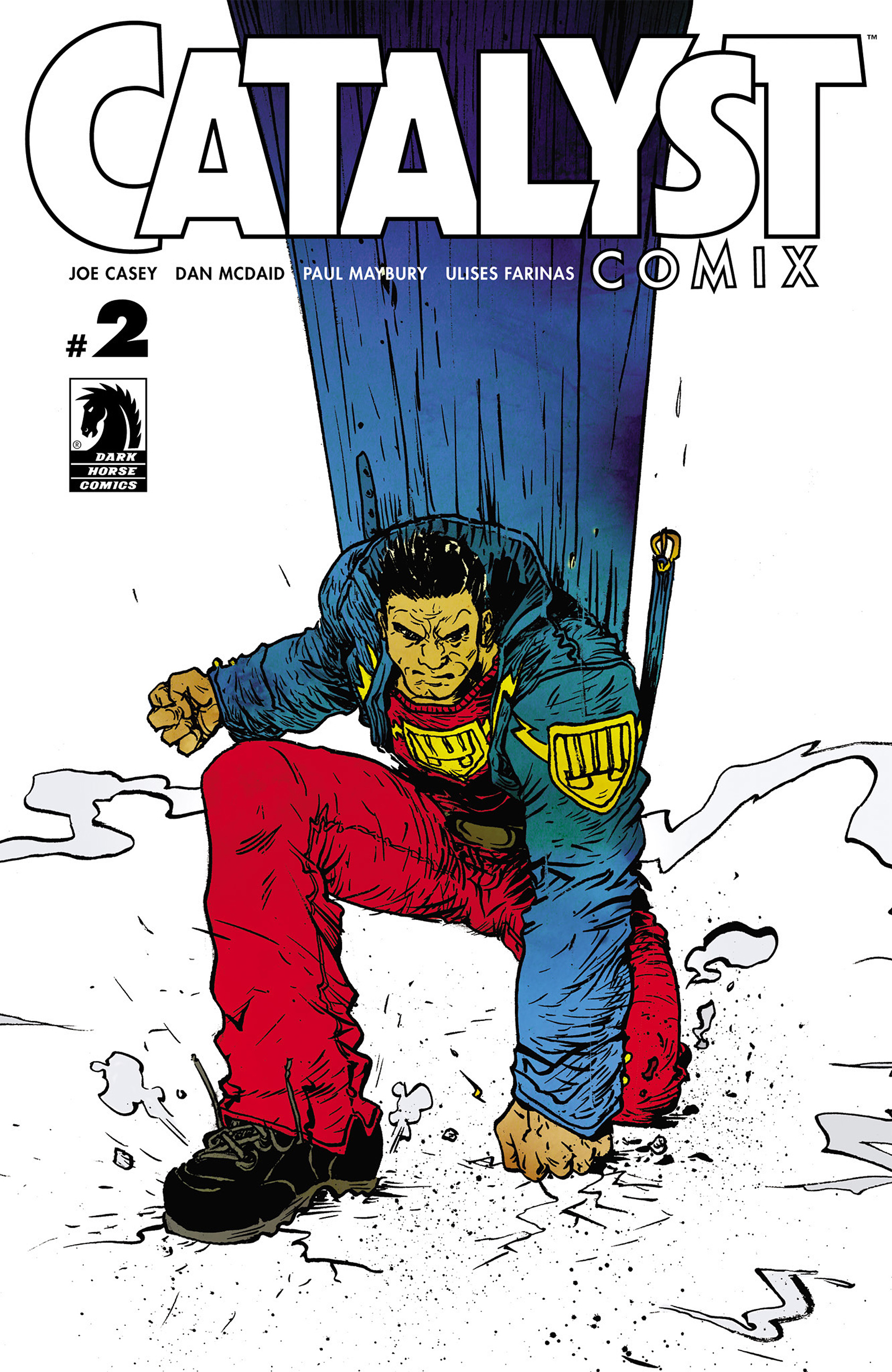 Read online Catalyst Comix comic -  Issue #2 - 1