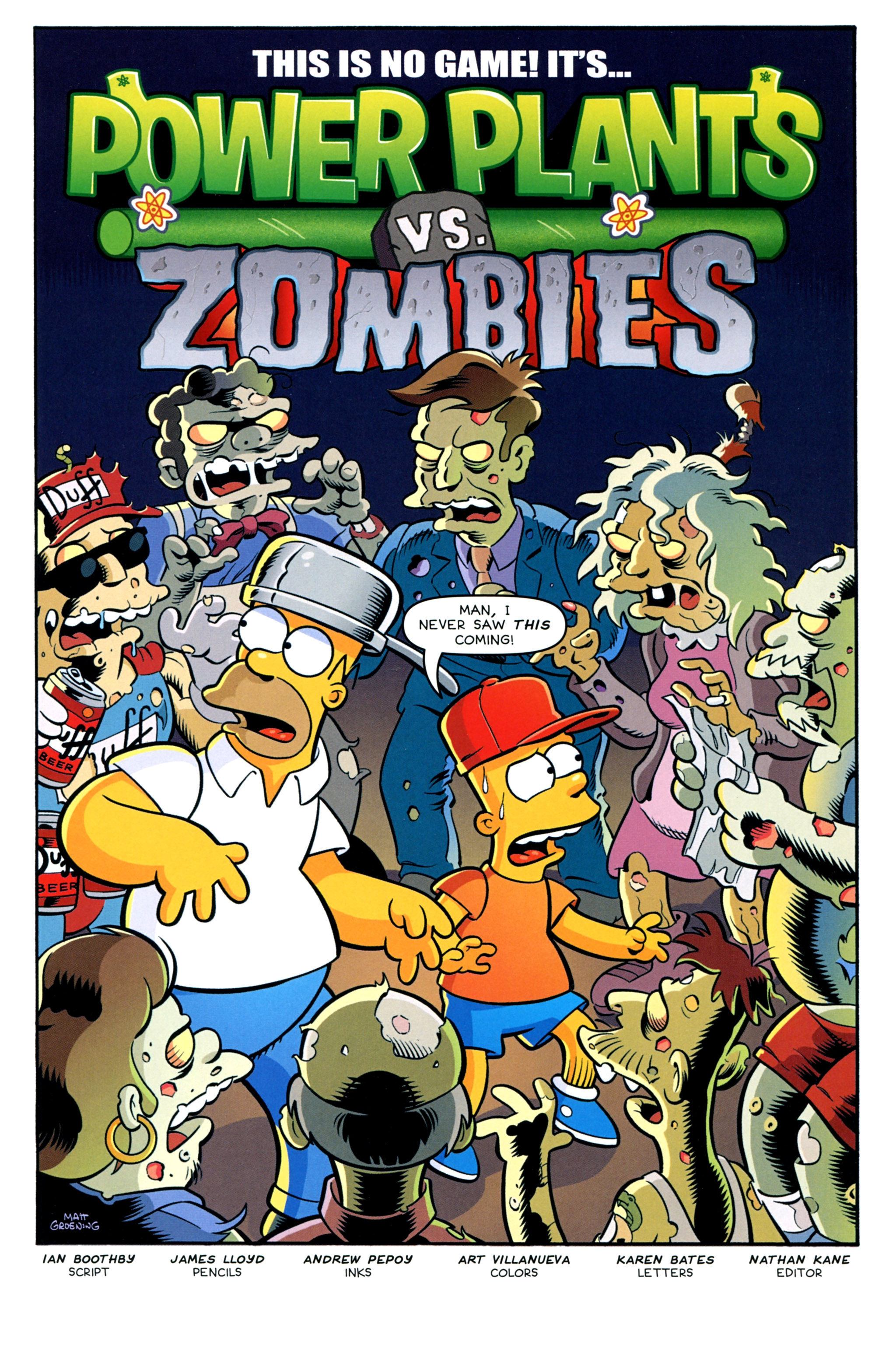 Read online Treehouse of Horror comic -  Issue #20 - 33