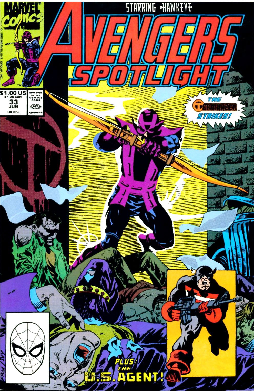 Avengers Spotlight 33 Page 1