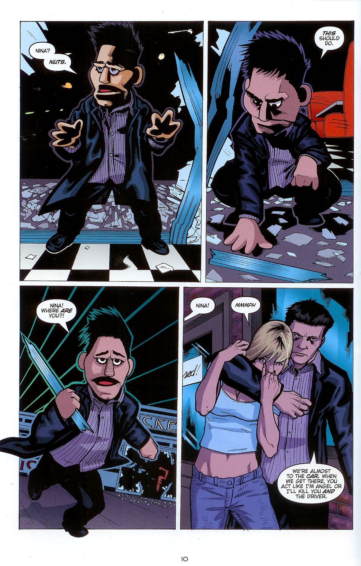 Read online Angel: Masks comic -  Issue # Full - 12