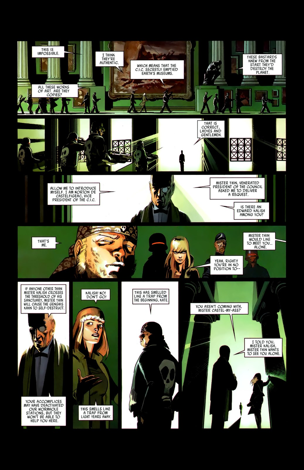 Read online Universal War One: Revelations comic -  Issue #3 - 30