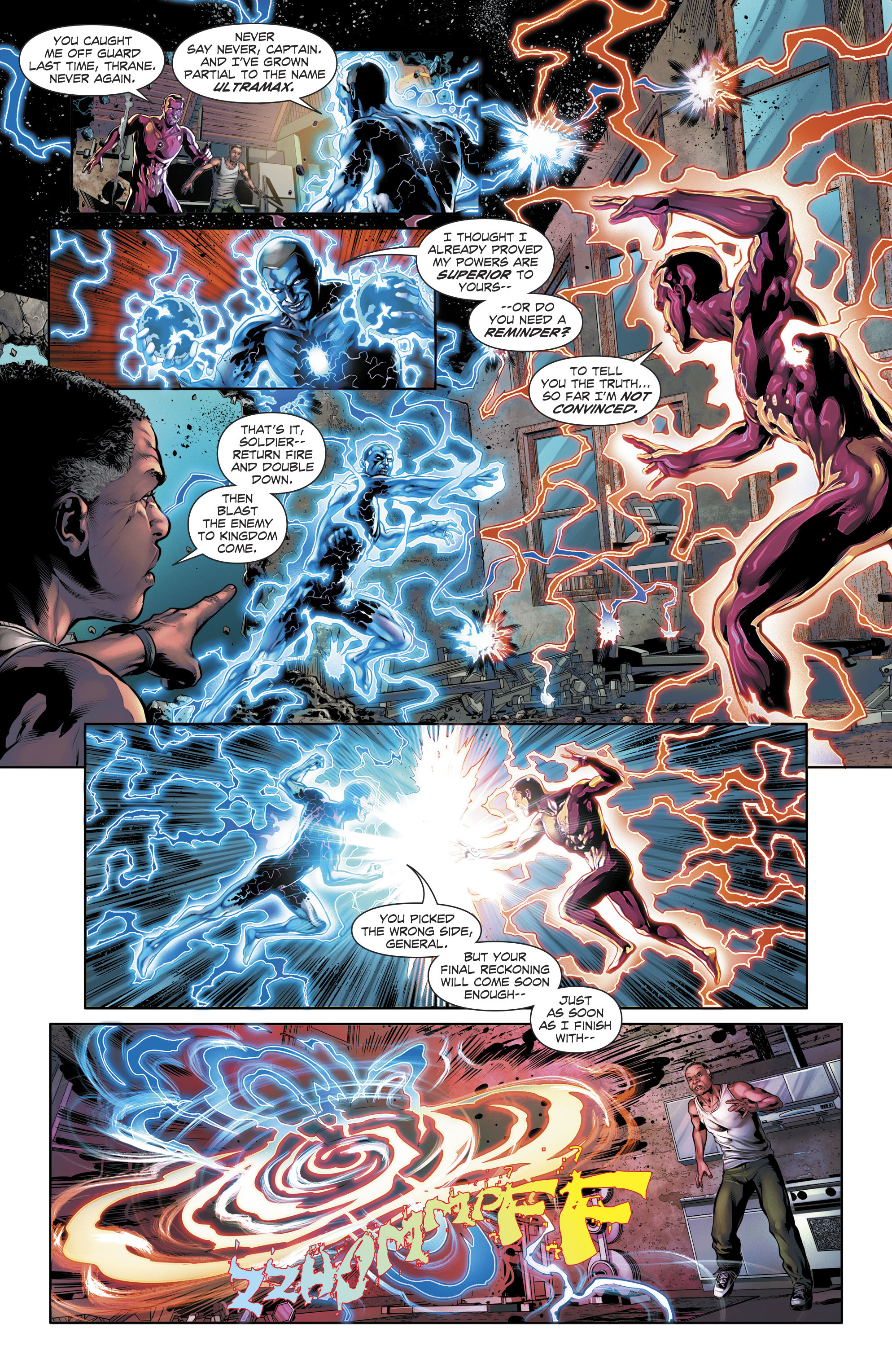 Read online The Fall and Rise of Captain Atom comic -  Issue #5 - 18