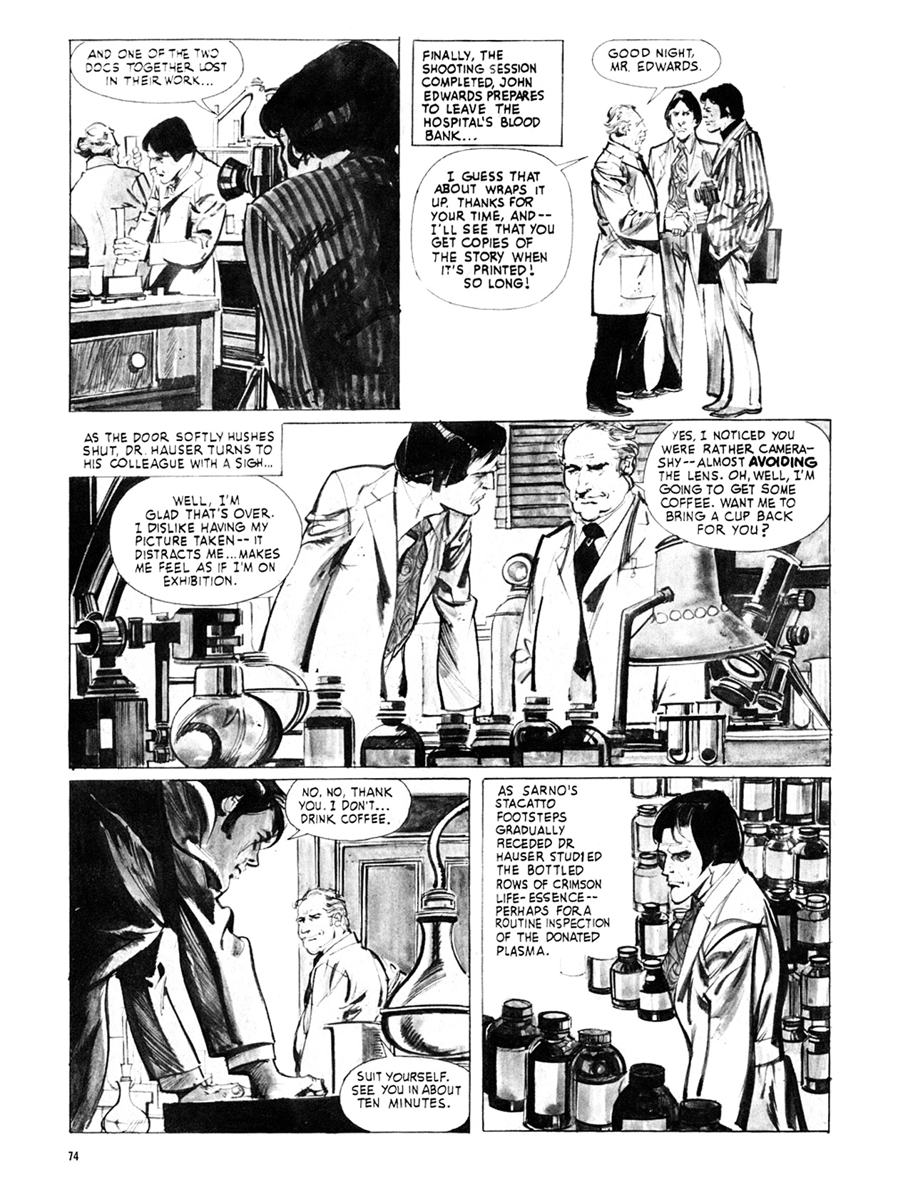 Read online Eerie Archives comic -  Issue # TPB 8 - 75