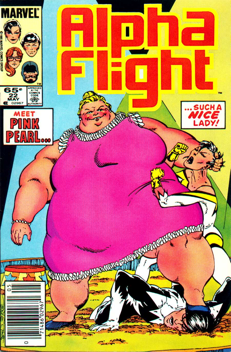 Read online Alpha Flight (1983) comic -  Issue #22 - 1