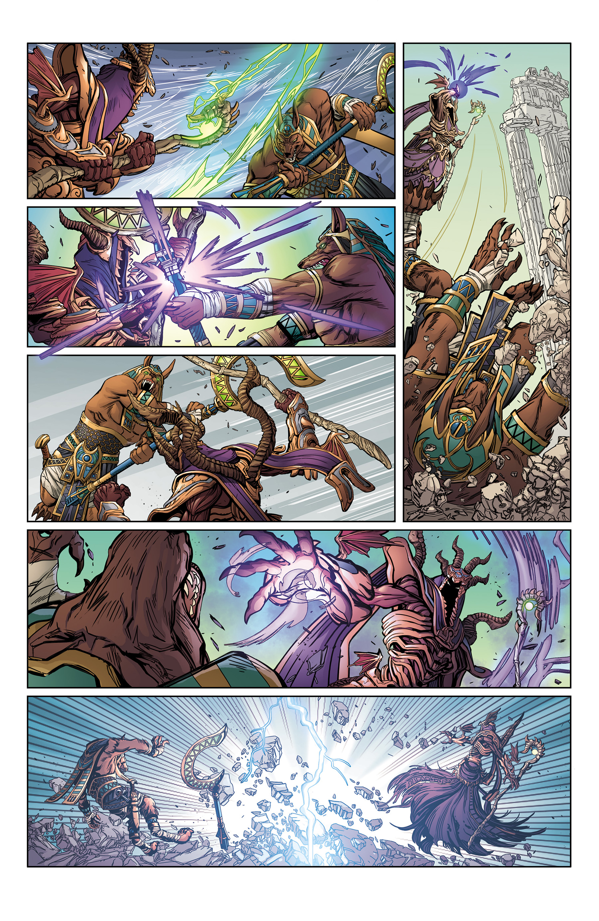 Read online SMITE: The Pantheon War comic -  Issue #1 - 8