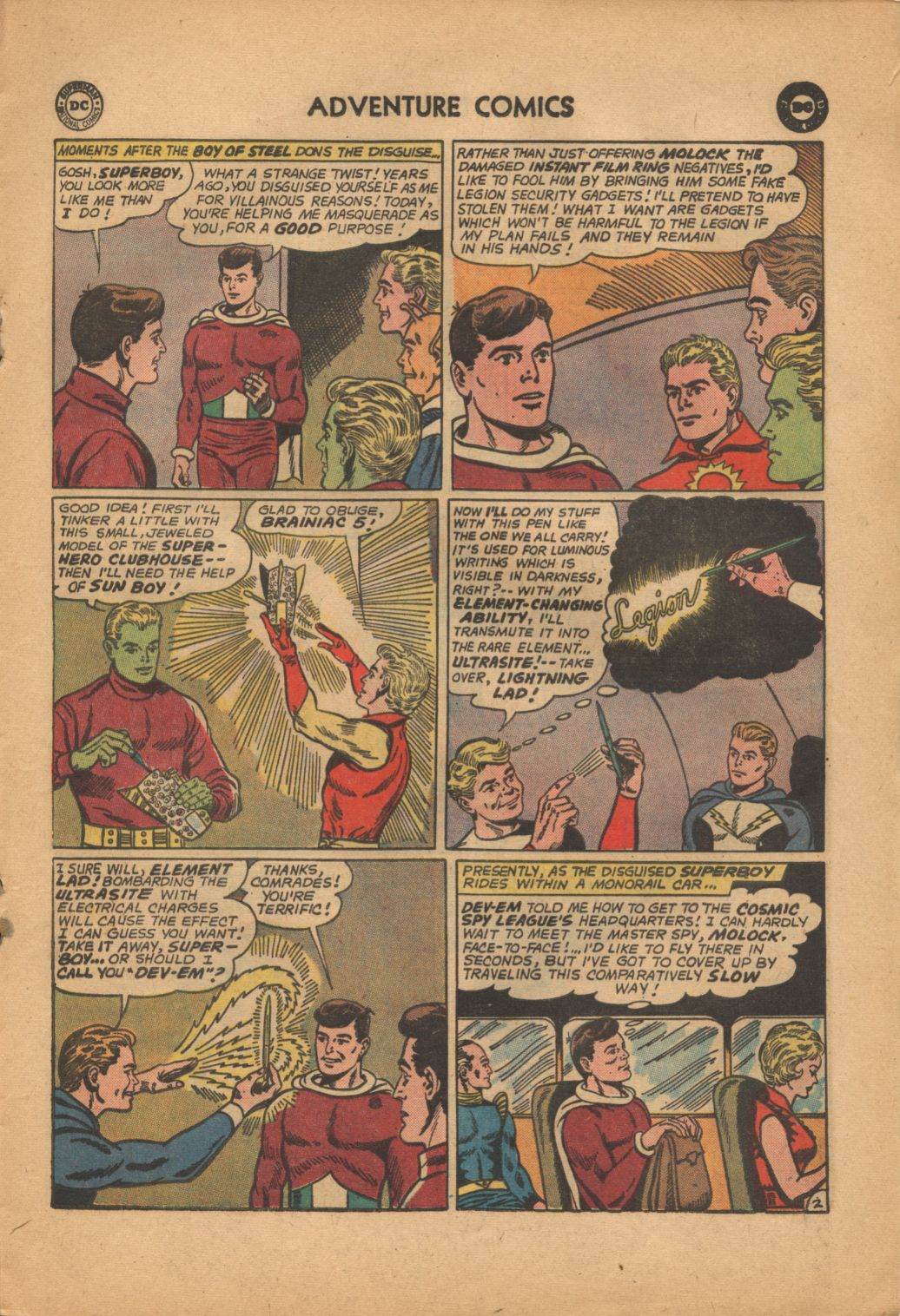 Read online Adventure Comics (1938) comic -  Issue #320 - 17