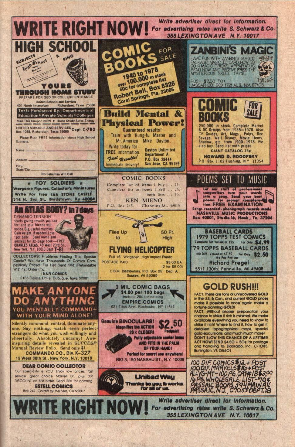 Read online Adventure Comics (1938) comic -  Issue #474 - 28