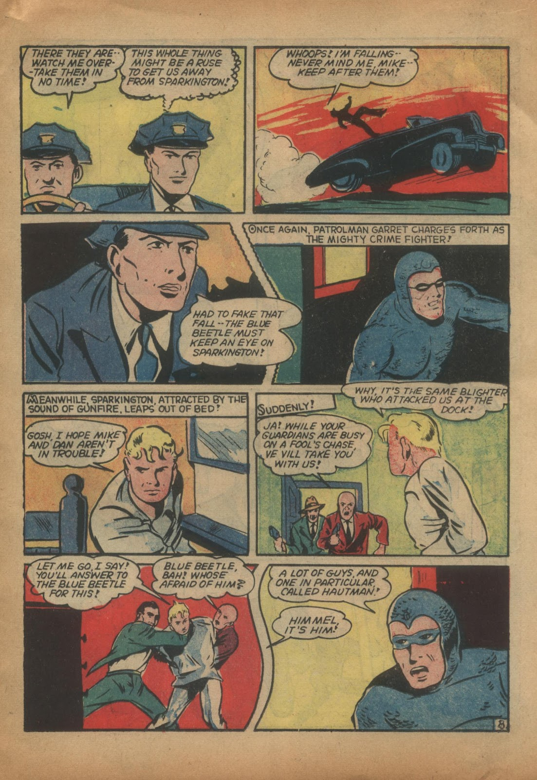 The Blue Beetle issue 15 - Page 27
