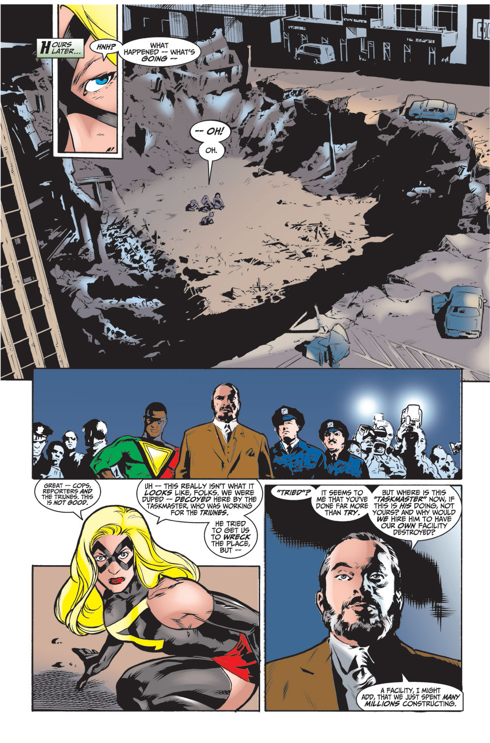Read online Avengers (1998) comic -  Issue #26 - 22