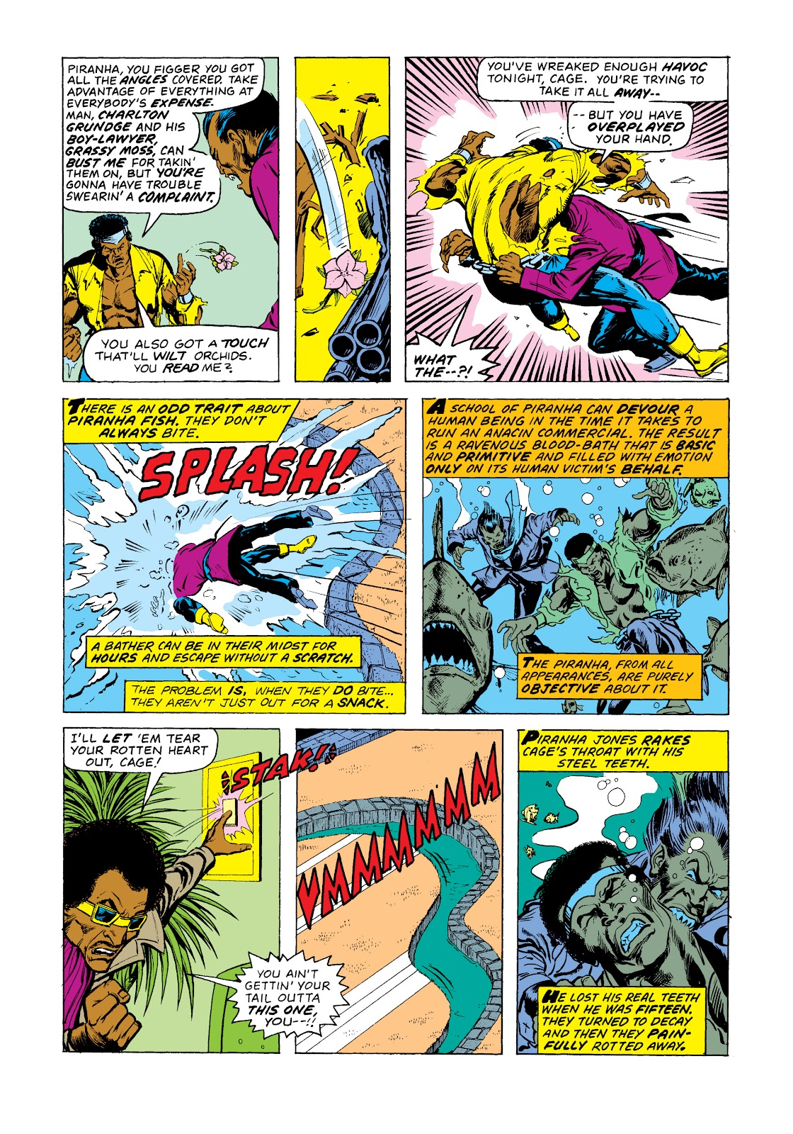 Read online Marvel Masterworks: Luke Cage, Power Man comic -  Issue # TPB 2 (Part 3) - 92