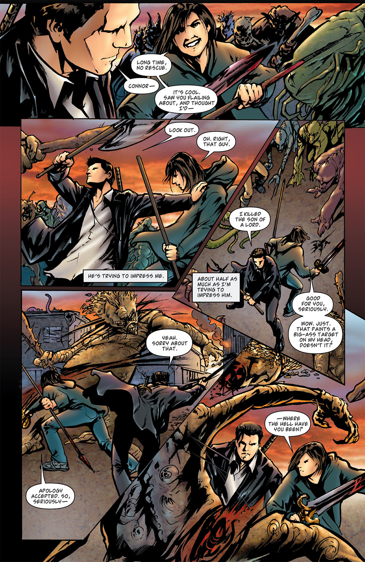 Read online Angel: After The Fall comic -  Issue #2 - 10