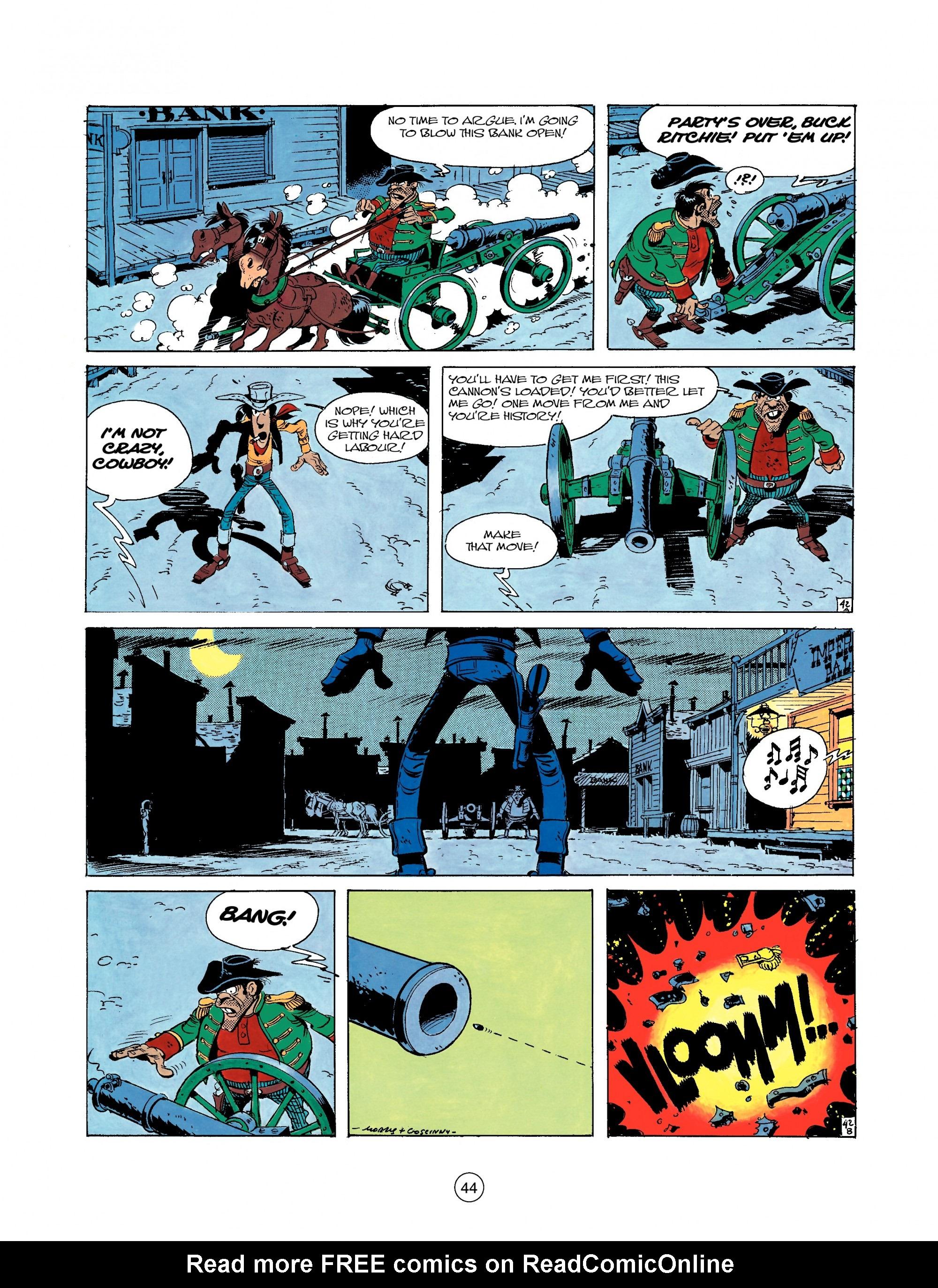A Lucky Luke Adventure 22 Page 43