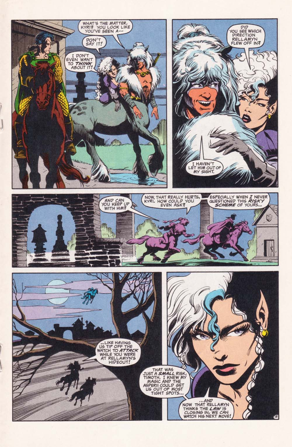 Read online Advanced Dungeons & Dragons comic -  Issue #28 - 15