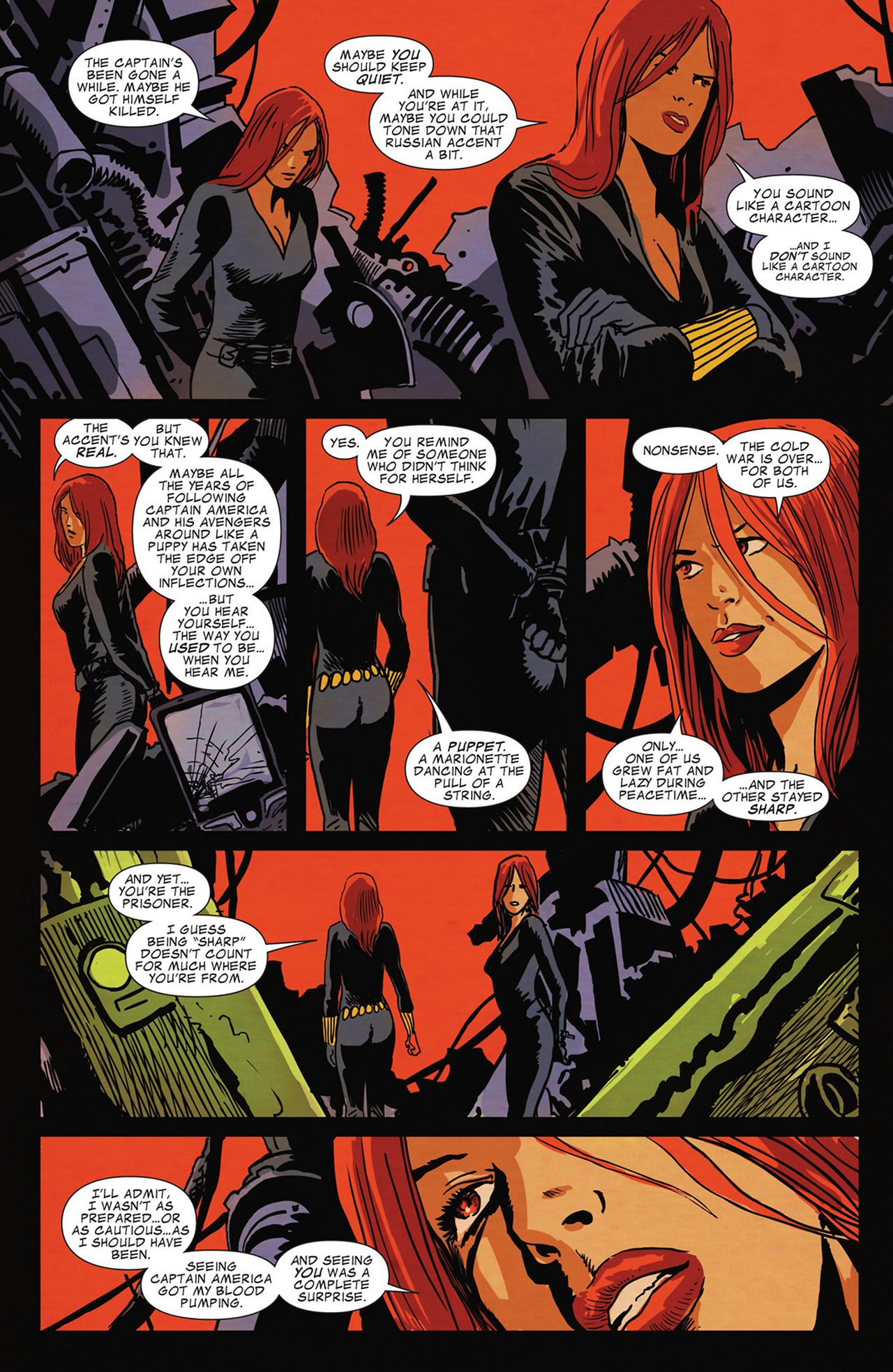 Read online Captain America And Black Widow comic -  Issue #638 - 7