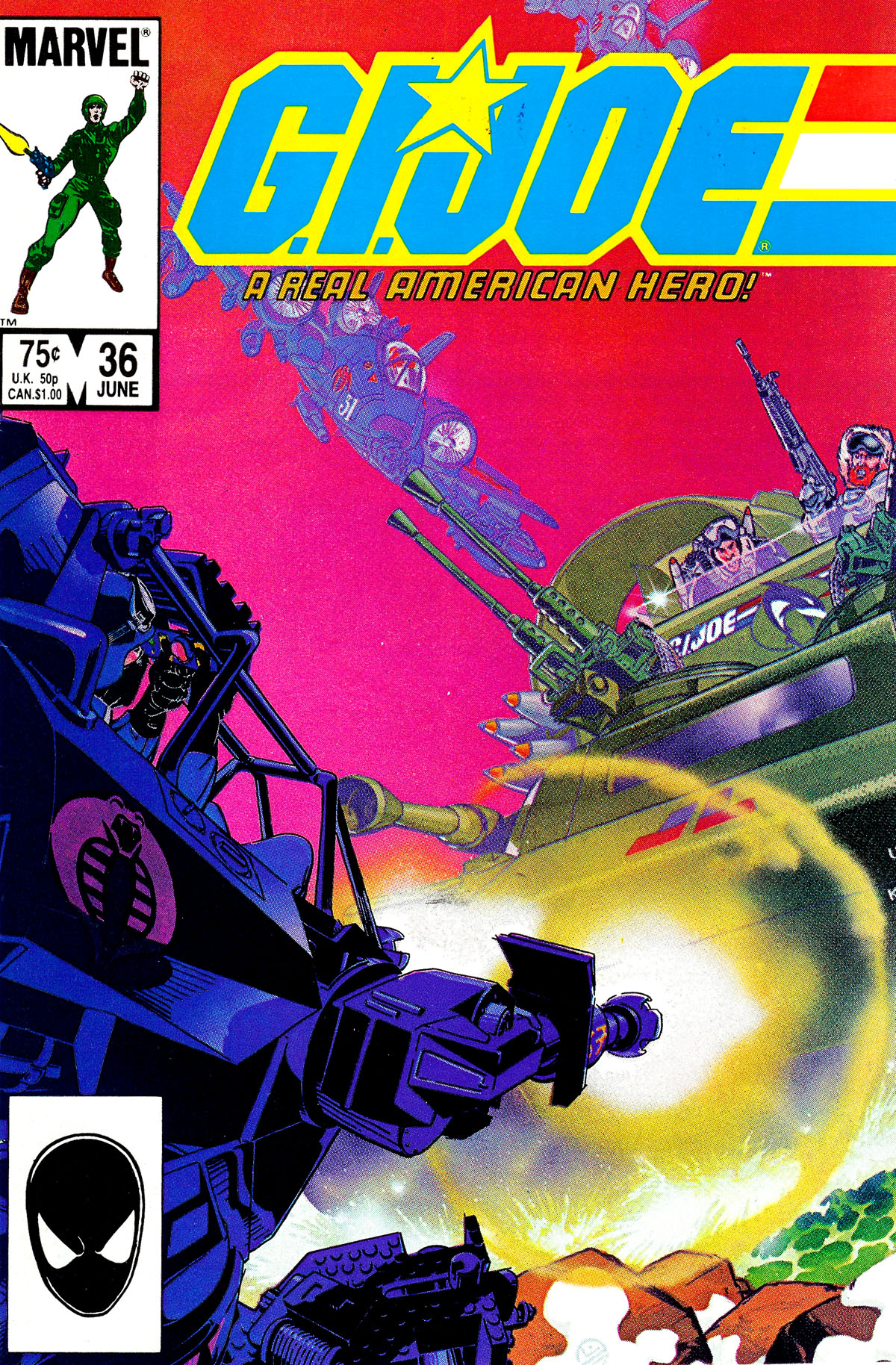 G.I. Joe: A Real American Hero 36 Page 1