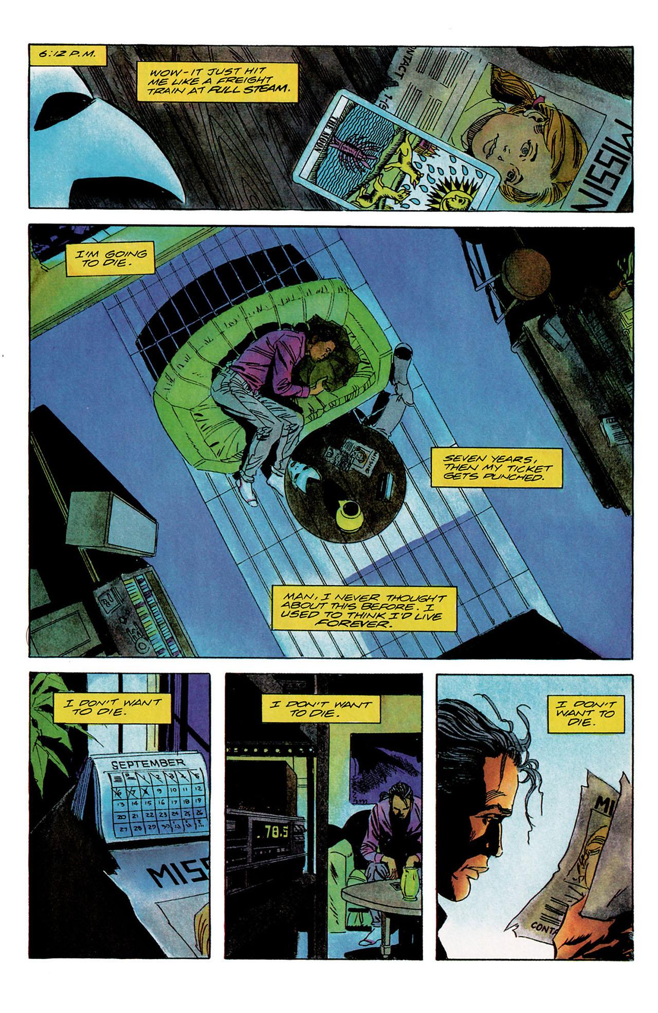 Read online Shadowman (1992) comic -  Issue #9 - 14