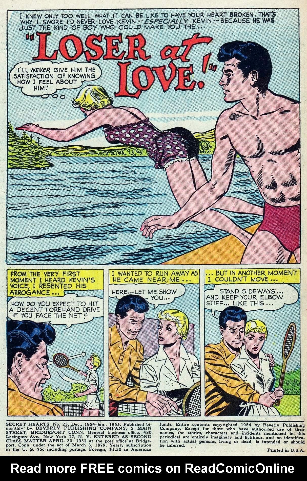 Read online Secret Hearts comic -  Issue #25 - 3