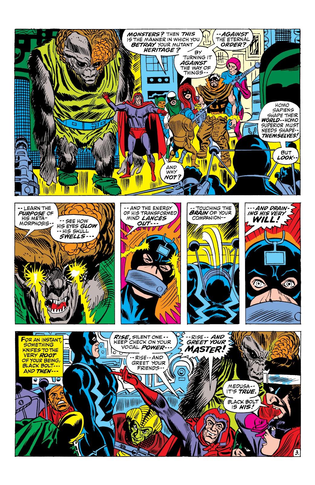 Read online Marvel Masterworks: The Inhumans comic -  Issue # TPB 1 (Part 2) - 81