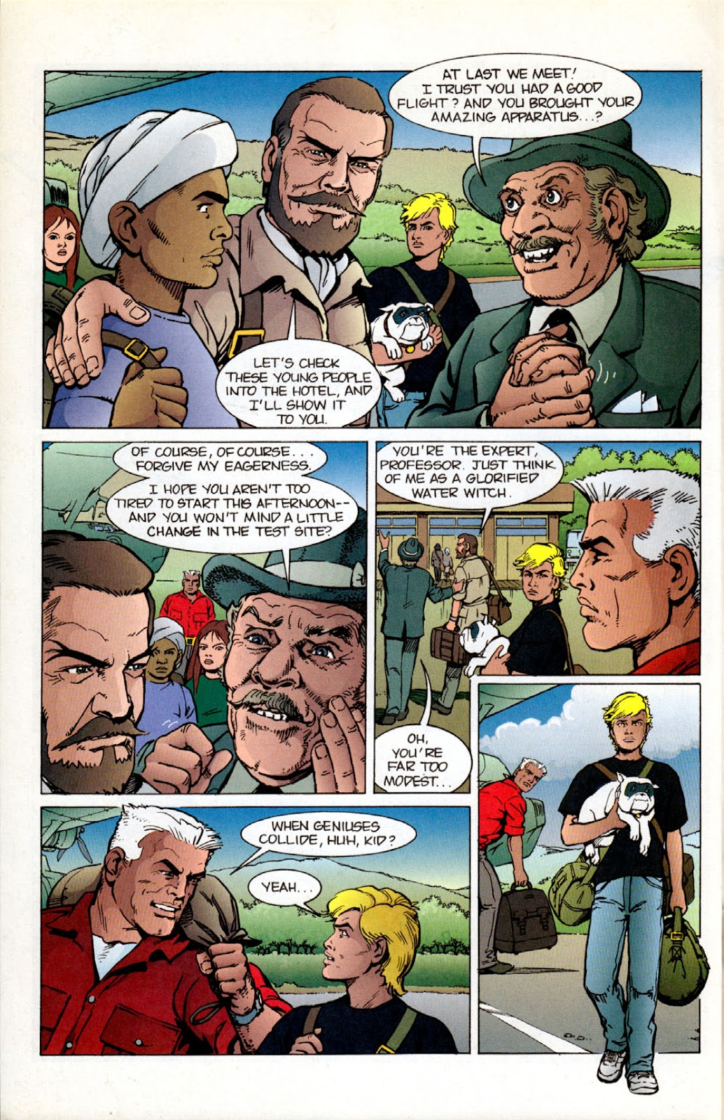Read online The Real Adventures of Jonny Quest comic -  Issue #12 - 6