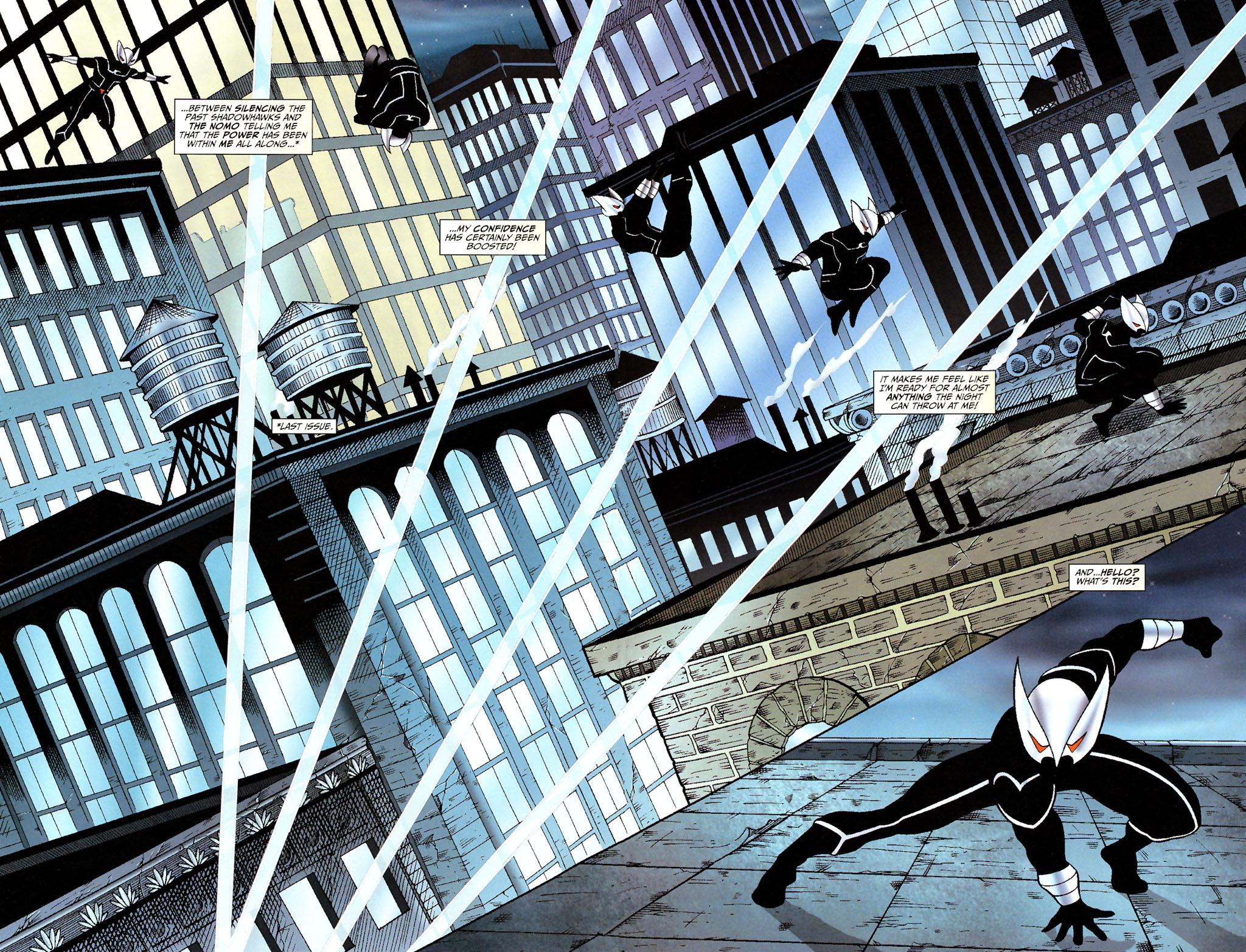 Read online ShadowHawk (2005) comic -  Issue #14 - 4